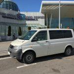 Van at Sofia airport