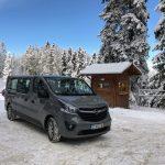 Opel Vivaro van 8+1 for Transfers