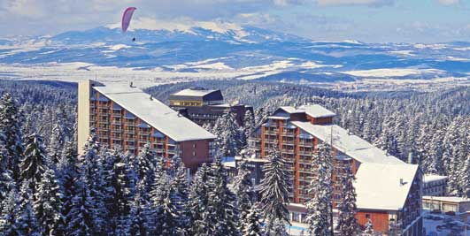 How to reach Borovets from Sofia