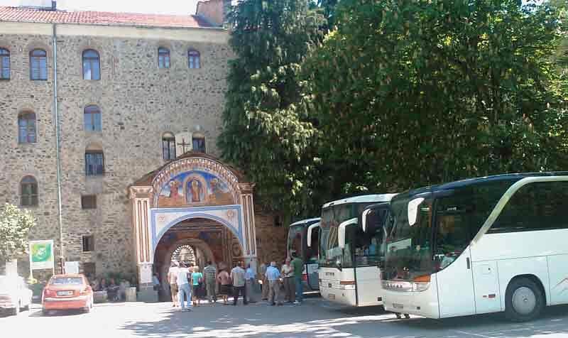 Из Софии в Рильский монастырь на автобусе