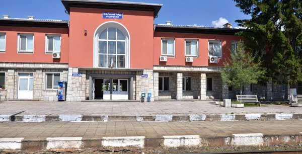 София Велинград на поезде