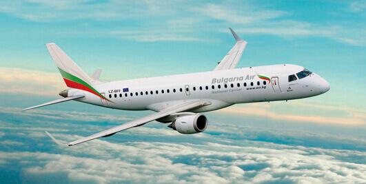 Budget plane tickets to Bulgaria
