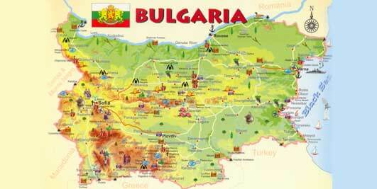 Preparation for a trip to Bulgaria