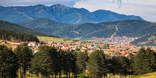 How to reach Velingrad from Sofia