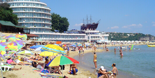 Cost of holiday accommodation in Bulgaria