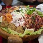 Traditional Bulgarian salad